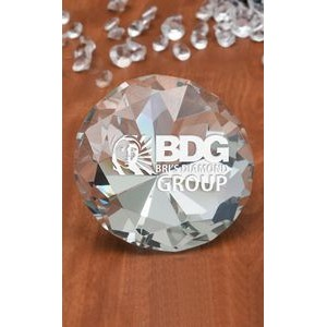 Large Diamanté Paperweight